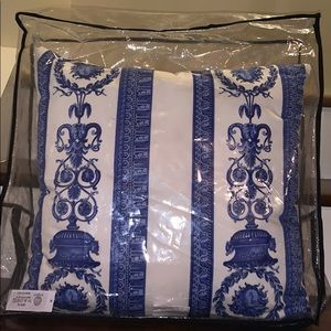 Versace Home Baroque Cushion Accent Pillow